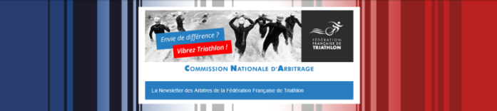 Icone - Newsletter Arbitres FFTRI